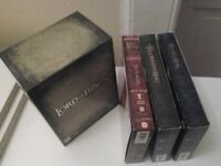 The Lord of the Rings trilogy DVD box set