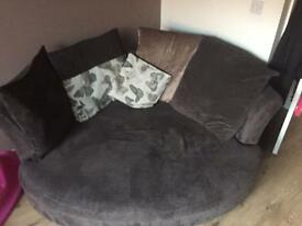 Cuddler sofa DFS year old