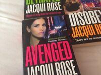 3 x Jacque Rose books
