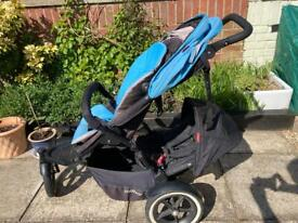 Phil and Ted's Navigator in-line pushchair/stroller
