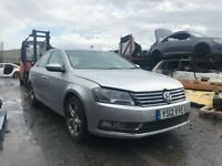 VW PASSAT B7 2011-15 BREAKING SPARES AIRBAG LEATHER SEATS ALLOY DOORS AXLE HUBS CORNERS