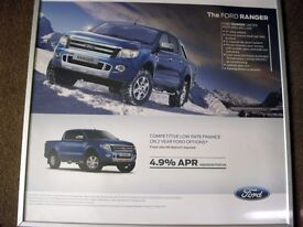 Original Ford showroom poster for the Ford Ranger