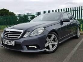 Mercedes e class e350 cdi sport (factory upgrades) Sat nav, Bi xenons, Heated memory seats, etc