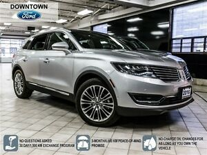 2016 Lincoln MKX Reserve, Luxury & Technology Package, One Owner