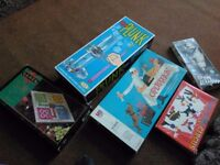 Selection of board games from 60,70,s Kerplunk,Operation,Mastermind etc