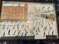 Original oil painting , with certificate, Lowry style
