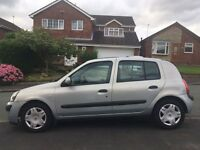 Renault Clio 1.2 petrol low tax and insurance
