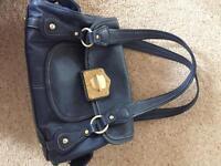 Blue Fioerlli Handbag