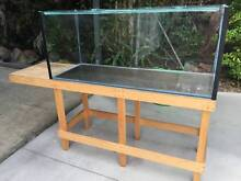 Glass Aquarium and stand Brookwater Ipswich City Preview