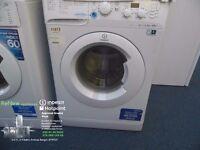 SPECIAL OFFER !!!!! EX-DISPLAY 6 KG 1400 SPIN WHITE INDESIT WASHING MACHINE REF: 11612