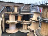 Up cycle , wooden cable drums for Up cycle, various sizes available