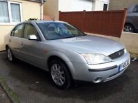 Ford Mondeo 2.0 petrol *Full Service History, MOT 04/2019 NO ADVISORIES ,Excellent Runner*
