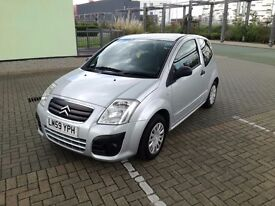 Silver Citroen C2 (two previous lady owners) £2300