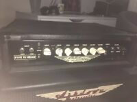 Ashdown five 15 big boy bass head 220w and ashdown 1x15 bass cabinet 250w EXCELLENT CONDITION
