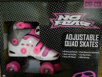 Quad skates adjustable size c10-c13 for girl