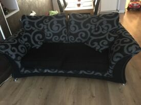 Dfs Sofa, chair and foot stool