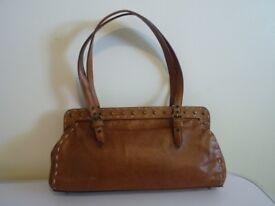 Russell & Bromley Mali Parmi Handbag Brown