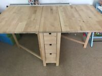 Norden- IKEA drop leaf dinning table