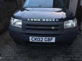 Breaking Freelander
