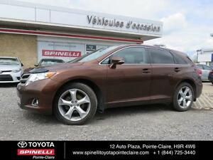 2015 Toyota Venza AWD V6 + GPS MAGS ROOF LEATHER