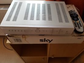 Sky + (Plus) Box 80gb with Cables and Remote