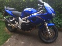 Suzuki sv650 sy project 12k only on the road but needs cleaning up