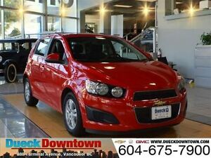 2016 Chevrolet Sonic LT - Original MSRP $ 23,165