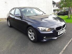 BMW 320d EFFICIENTDYNAMICS 2013 automatic full service history