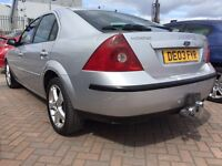 2003 03 FORD MONDEO DIESEL TDDI SUPERB DRIVE GREAT FUEL ECONOMY CHEAP RUNNER SOLD WITH NEW MOT !!!!