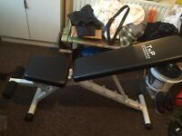 Flat/ Incline workout bench