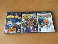 Crash Bandicoot Nintendo GameCube bundle