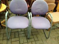 2 X office chair reception kitchen
