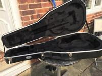 Kinsman new hard guitar les Paul style 40 inch long inside x15 inch widest point