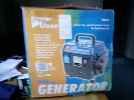 850watt generator new in box