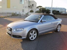Audi A4 Cabriolet 2.0 TDI S Line 2dr S LINE DIESEL 6 SPEED STUNNING