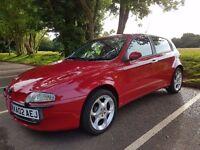Alfa Romeo 147 - T Spark Lusso (2.0 Petrol 5dr)