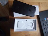 iphone 7 black mate 128 GB