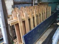 Garden Picket Fence Panels £14 each delivered to Braintree