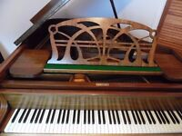 art deco baby grand piano by max adolph summer sale price