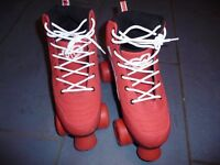 Rio Roller recreational quad roller boots size 7 worn once