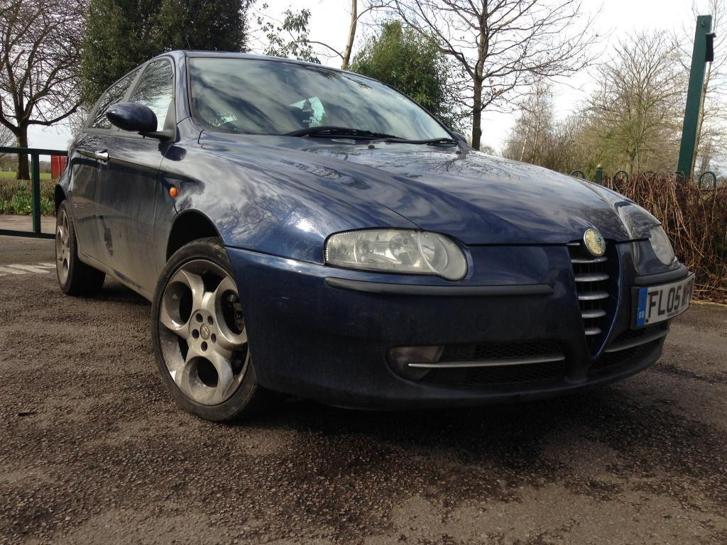 "Bargain Alfa Romeo 147 T-Spark Velloce full leather 18"" alloys 95,000 miles  long"