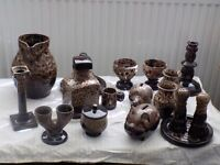 15 Piece pottery (2 Miscellouses pieces as well)