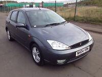 2004 Ford Focus zetec 1.6 , mot - July 2017 , only 70,000 miles , service history ,astra,megane,