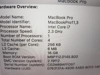 Apple Macbook Pro -A1398 - 15inch - i7 Processor, 16GB Ram, 500GB HDD - Grab a Bargain