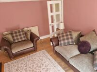 """Barker and Stonehouse """"Beaumont"""" sofa and large snuggle chair as new"""