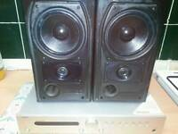 Mission speakers and tangent amp