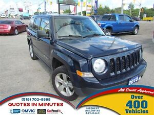 2015 Jeep Patriot NORTH   AWD   ROOF   MUST SEE
