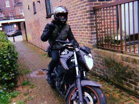 Yamaha Xj6 600cc 2013 street fighter