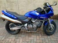 2001 Honda Hornet CB600F Blue