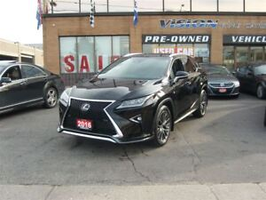 2016 Lexus RX 350 F SPORT/PANORAMIC SUNROOF/HEADS UP DISPLAY